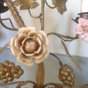 French candelabra with flowers (2)