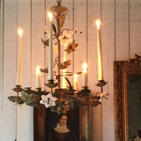 French candle chandelier