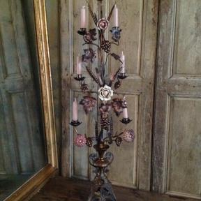 Rare large French candle holder (1)