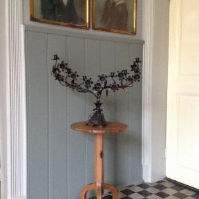 Dark French Candelabra